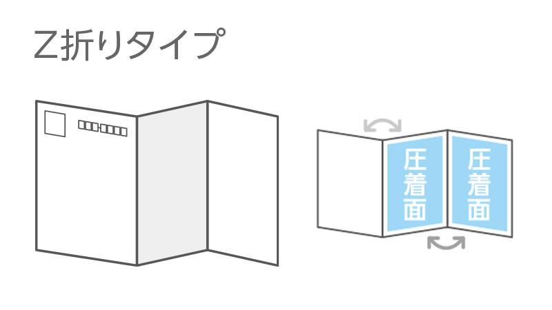 Z折りタイプ